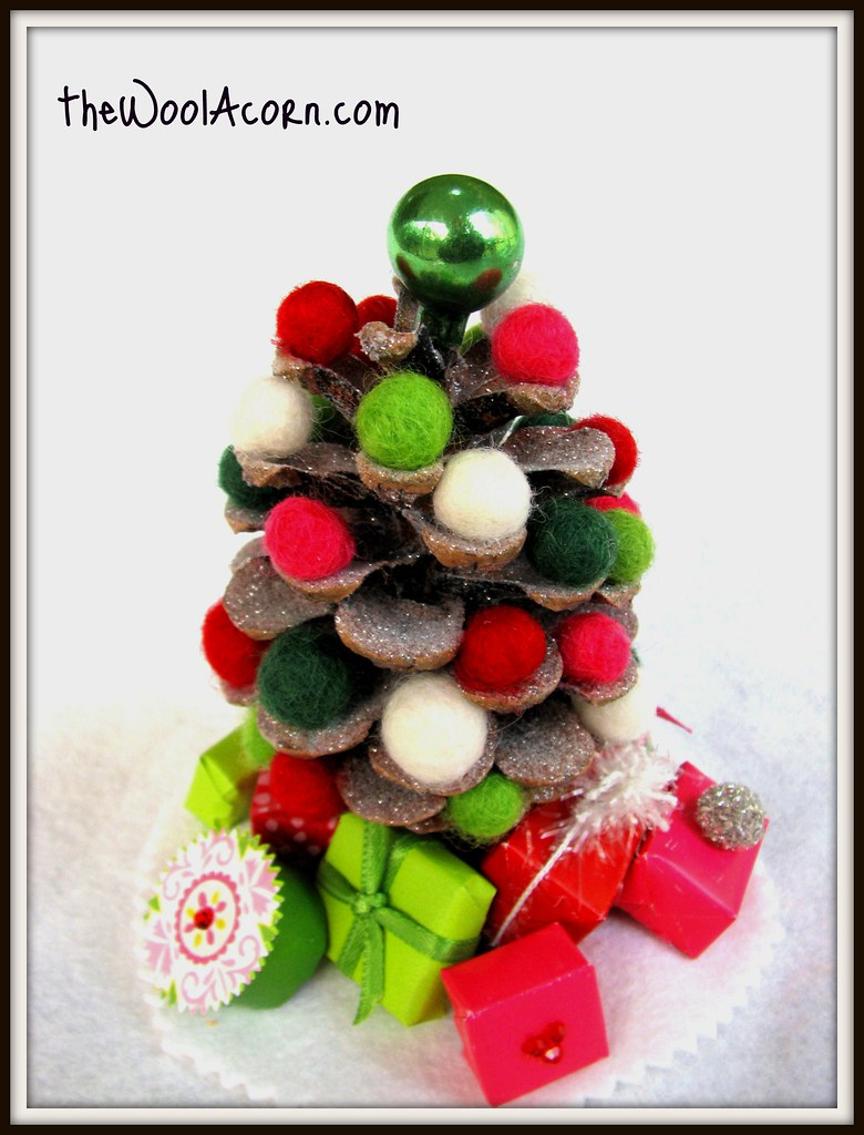 miniature christmas tree just 45 inches tall - Miniature Christmas Decorations Uk