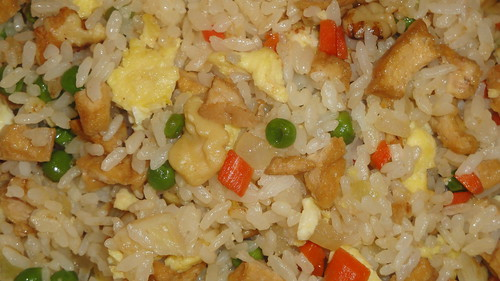 Vegetarian fried rice 素炒飯