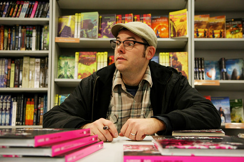 Nathan Fox - Forbidden Planet Signing