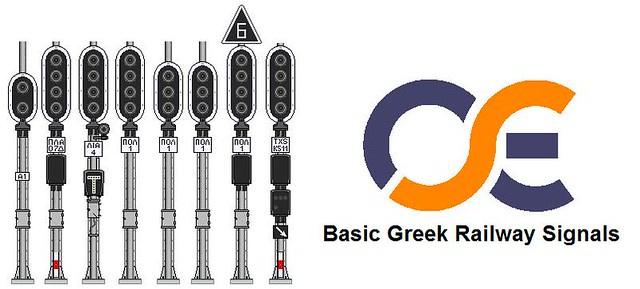 Basic Greek Railway Signals
