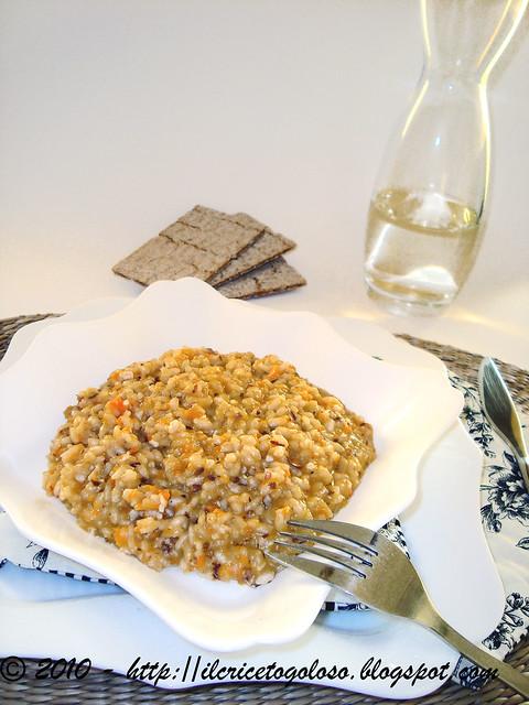 Risotto con carote e mandorle (1)