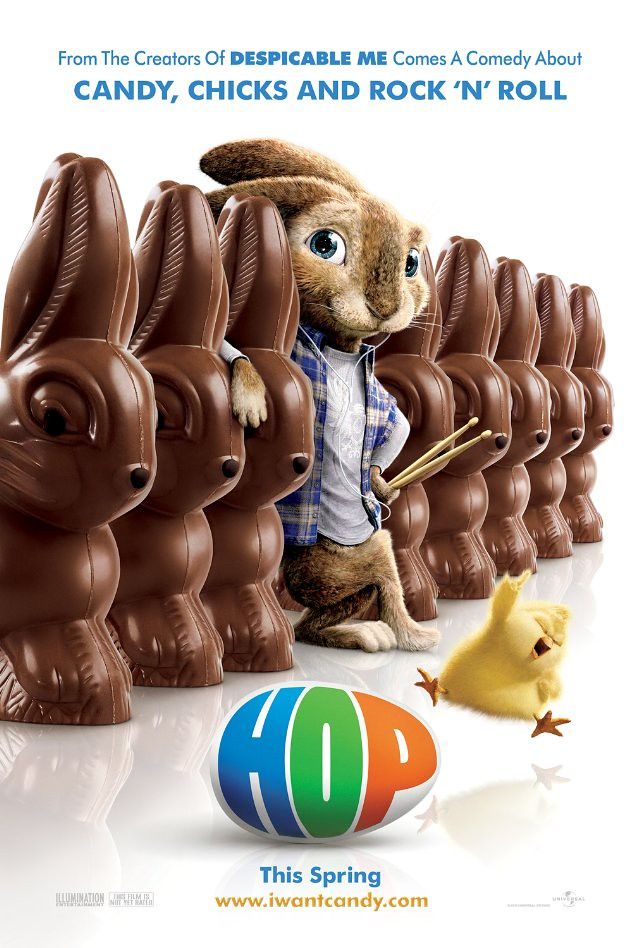 Hop poster conejo de Pascua