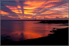 Impressive OBX Sunrise! (MurrayH77) Tags: sunrise nc hatteras frisco obx 2010 mygearandme mygearandmepremium mygearandmebronze mygearandmesilver mygearandmegold mygearandmeplatinum mygearandmediamond onlythebestofnature flickrstruereflection1 flickrstruereflection2