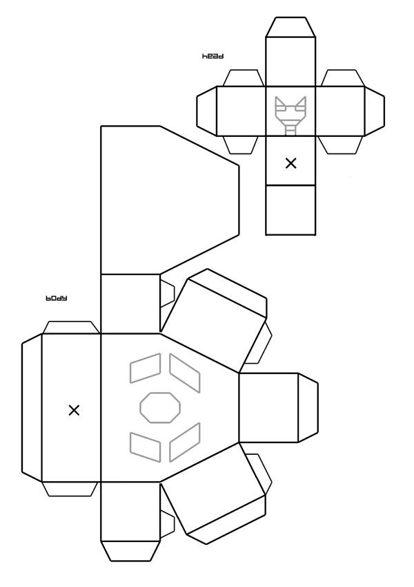 Cardbots Sheet 1