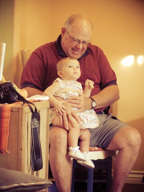 Grandpa and Maya