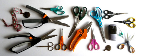 i have a  lot of scissors