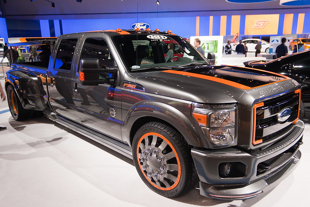 auto show ford la los angeles duty autoshow super center convention 2010 f350 laas cflophotography