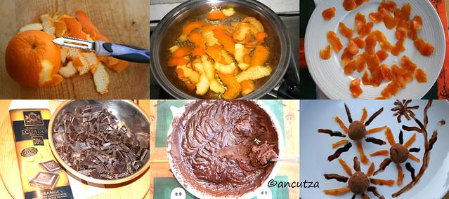 Ricetta con foto Tartufi al cioccolato e arance