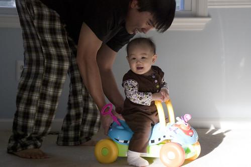 push faster papa!