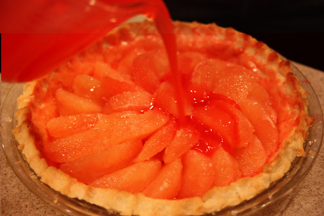 edible distractions - edible distractions - Texas Grapefruit Pie