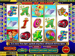 5 Reel Wheel Of Chance slot game online review