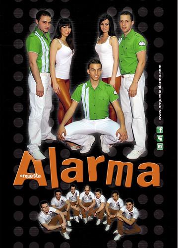 Alarma 2011 - orquesta - cartel