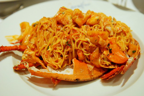 Taglierini with fresh Lobster