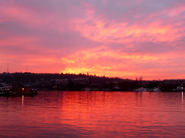 Lake Union at Sunset