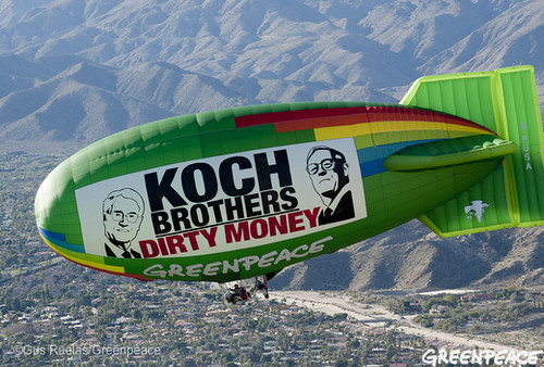 Koch Brothers Deliver Dirty Money Meeting