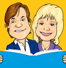 The iconic Richard and Judy