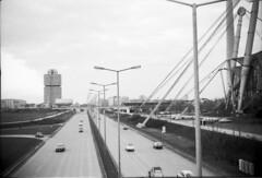 Olympiagelnde 1975 Mittlerer Ring (Pacific11) Tags: mnchen haus ring 1975 olympia verkehr gebude olympiagelnde zeltdach georgbrauchlering mittlerer