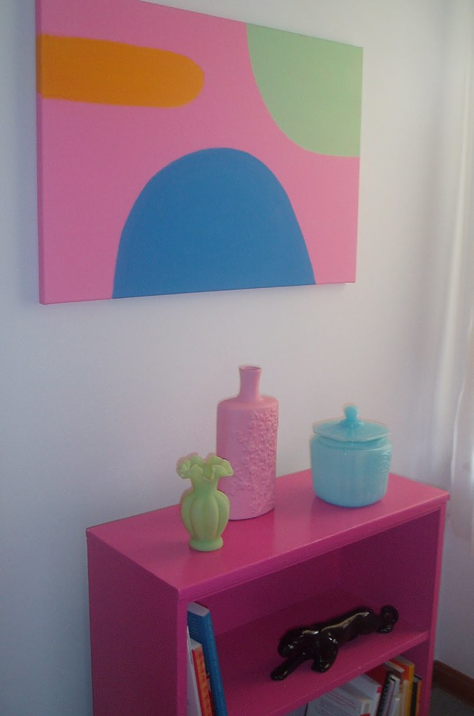 Peggy's Hot Pink Bookcase
