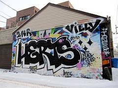 (maxwell colette) Tags: streetart chicago art graffiti jones tag tags graff roger throwups villy amuse herts omens chicagostreetart noack 2nr thebestalleyinwicherpark