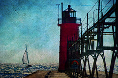 Escape (karenmeyere) Tags: roadtrip lakemichigan southhaven michiganlighthouses dreamingofsummer karenmeyere karenhunnicutt karenmeyer karenhunnicuttphotographycom