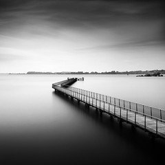 * p a t h * (^soulfly) Tags: longexposure mono singapore walkway simplicity canon5d sep pathway pulauubin hoya markii cs4 bwfilter nd4 ef1740mm nd110