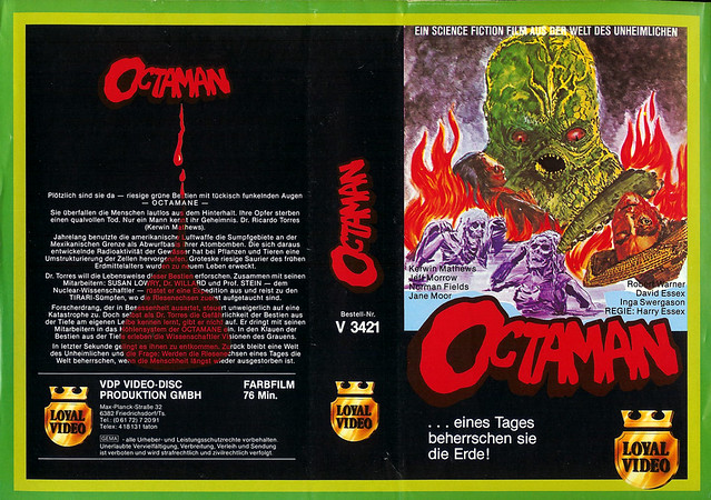Octaman (VHS Box Art)