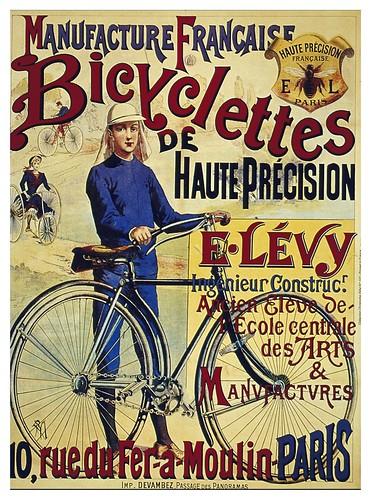 019-Carteles de bicicletas antiguas