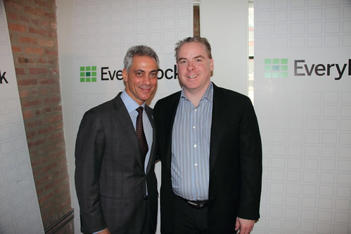 Rahm Emanuel & Me at EveryBlock