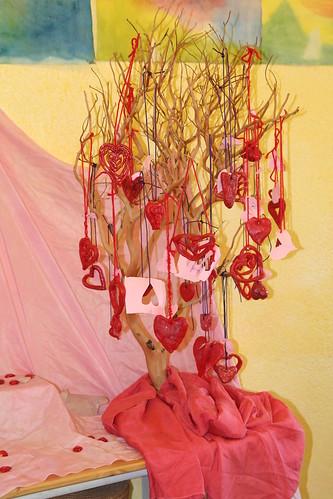 Third Grade Valentine Tree