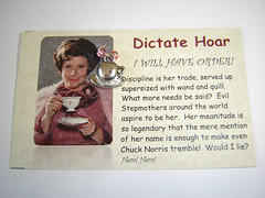Dictate Hoar Card