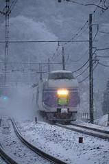 Snow smoke (Takechan-400) Tags: snow japan tokyo nikon chuoline nikkor takao    superexpress hachioji d300   jr   e351 superazusa afsdxvred18200mm