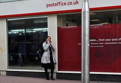 Southend Post Office Fag (Community Archive) Tags: street england people streets english fashion highheels candid smoke saturday tights vernacular essex fag southend lurkation townlife interestingpeople thisengland 12022011