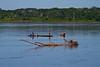 family in canoe with Peke Peke motor, Amazonia (TomekY) Tags: family peru expedition americalatina rio river barco tribe indios napo tomek szymon lancia 2010 tribu pekepeke kichua aroundtherionapo angoteros