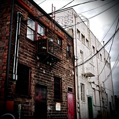 Cheap Rent in Tacoma () Tags: old city irish building classic abandoned stairs vintage fire washington italian highway escape antique working class retro 99 tacoma southtacoma