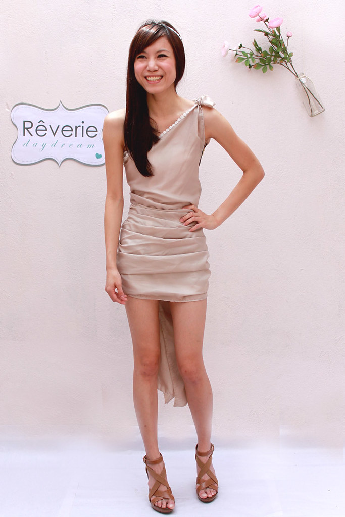 Rêverie-beige dress