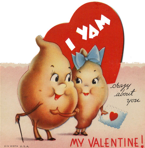 photo about Free Printable Vintage Valentine Cards named 1950s basic valentine playing cards. accidentally hilarious