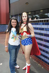 Supanova 2011 Melbourne - Wonder Woman and Circuscat