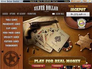 Silver Dollar Casino Lobby
