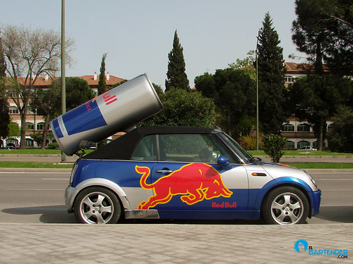 Los coches de Red Bull