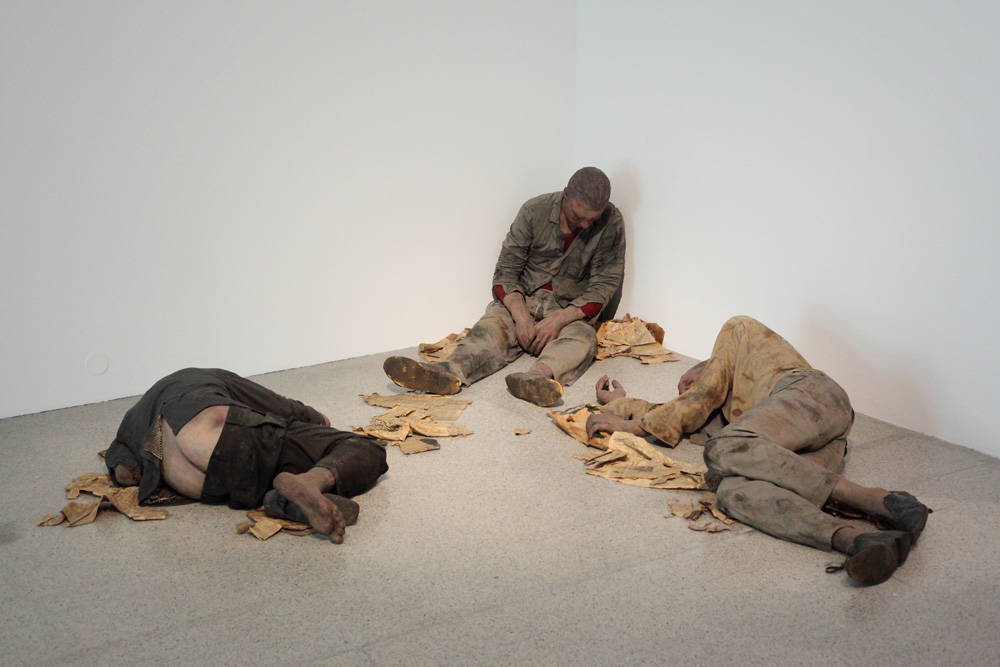Duane Hanson, Bowery derelicts (Bowery bums), 1969-1970 1