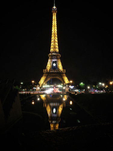 Evening Eiffel