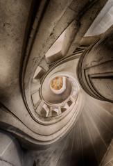 La larme à l'œil ... (ElfeMarie) Tags: château castel manoir manor abandoned abandonné lost lumière light escalier stairs architecture forgotten oublié marilynek creepy urbex decay derelict decayed décrepit