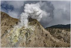nuances of volcanic light (i.v.a.n.k.a) Tags: ivanahesova ivanadorn sonyalpha indonesia java light shades tones volcanoes volcanic fumarole sulphur colours geology papandayan