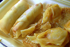 Crispy Spring Rolls & Crispy Wonton (Tony Worrall) Tags: crispy spring rolls wonton asian chinese add tag ©2017tonyworrall images photos photograff things uk england food foodie grub eat eaten taste tasty cook cooked iatethis foodporn foodpictures picturesoffood dish dishes menu plate plated made ingrediants nice flavour foodophile x yummy make tasted meal