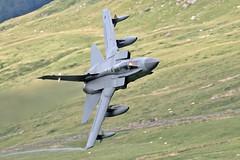 RAF Tornado GR4, Cad West, LFA7, 3/7/17 (TheSpur8) Tags: tornado lowlevel uk 2017 date skarbinski landlocked gr4 jet military cadwest aircraft northwales anationality places transport