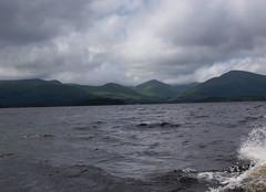 On Loch Lomond (Alec_MacKinnon) Tags: lochlomond luss inchcailloch balmaha mountains hills loch scotland spray