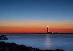 Faro Punta Sottile (Michele Naro) Tags: trapani favignana puntasottile sunset sonnenuntergang nikond610 nikkor50mmf18 sicily sicilia sizilien sicile sea see italien italy italia iamnikon italie