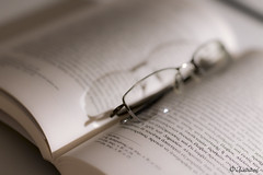 Reading (filippos.pantazis) Tags: 2017 50mmf14dghsmart 7dmarkii photography still reading book glasses spectacles bokeh pair