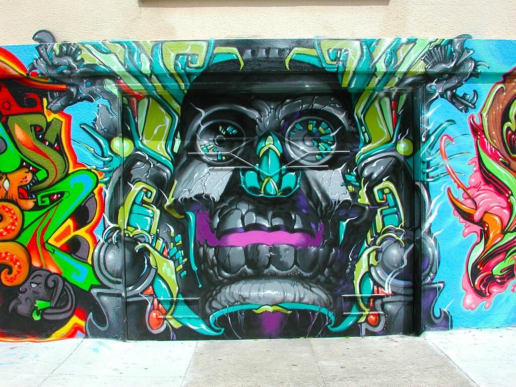 LANGO, San Francisco, Graffiti, Street Art