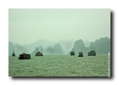 Halong Bay # 8 (HoangHuyManh images) Tags: copyright mountains boats vietnam halongbay vnhhlong earthasia hoanghuymanhimages
